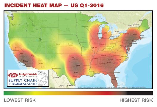 Incident Heat Map