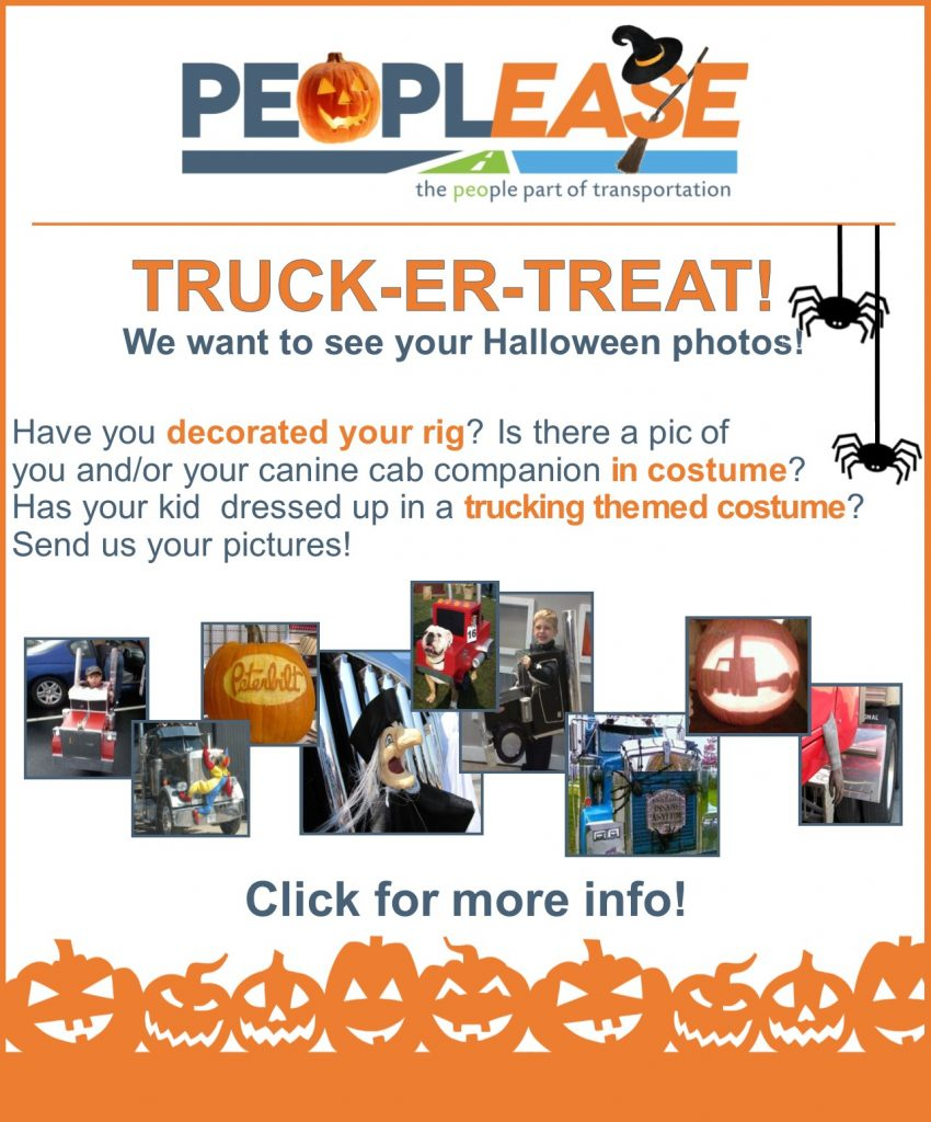 Trucking Photo Contest for Halloween